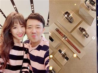 Hari Won cám ơn Trấn Thành trong ngày kỷ niệm 2 năm cưới