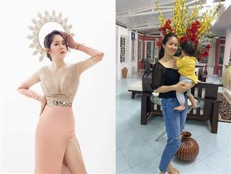 Hậu giảm cân, Lê Phương chơi lớn diện váy 'cắt trên, xẻ dưới' khoe ngực căng đầy, chân dài nuột