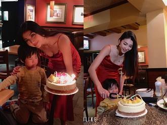 Ngọc Quyên đón sinh nhật bình yên bên con trai, xúc động với điều ước bình dị sau khi ly hôn