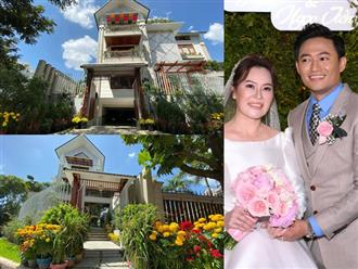 Hé lộ biệt thự hoành tráng của Quý Bình và vợ tổng giám đốc, nhìn qua đã biết 'không phải dạng vừa'