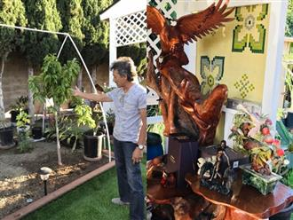 Hé lộ không gian nhà vườn giản dị của ca sĩ Hương Lan ở Mỹ