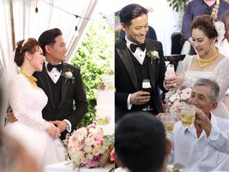 Hé lộ lễ rước dâu của Quý Bình tại quê nhà, cô dâu đại gia đeo vàng nặng trĩu gây choáng