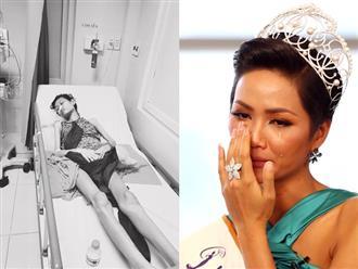 Xót cảnh người mẫu 9x gầy guộc nằm thoi thóp trên giường bệnh được H'Hen Niê kêu gọi giúp đỡ