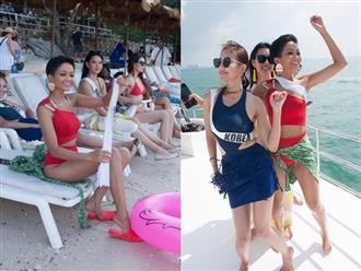 H'Hen Niê mang đôi dép tổ ong 'huyền thoại' khi tham gia Miss Universe 2018