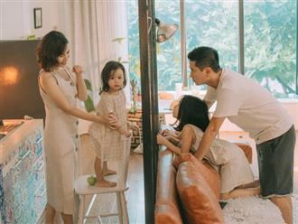 Hồ Hoài Anh - Lưu Hương Giang lần đầu khoe ảnh gia đình