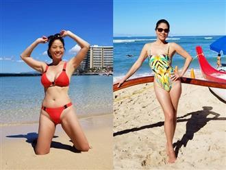 Hồ Lệ Thu diện bikini khoe thân hình nóng bỏng ở tuổi 46 sau 3 cuộc hôn nhân bi kịch