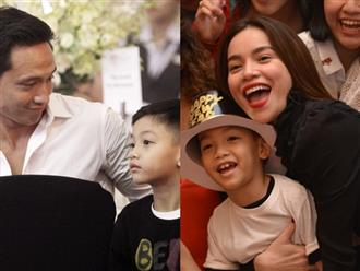 Hồ Ngọc Hà đón năm mới bên Kim Lý và con trai