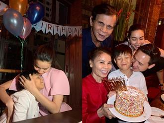 Không kém cạnh Cường Đô la, Hồ Ngọc Hà và Kim Lý làm điều đặc biệt cho Subeo trong ngày sinh nhật