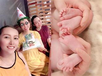 Hoa hậu Đặng Thu Thảo hạnh phúc khoe đang mang thai đôi
