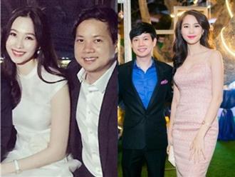Hoa hậu Đặng Thu Thảo ngày càng xinh, mi - nhon sau khi sinh còn riêng ông xã lại 'phát tướng' thấy rõ