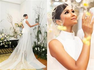 Vừa công khai có bạn trai, Hoa hậu H'Hen Niê tung ảnh cưới đẹp như cổ tích: 'Hen cũng phải thành cô dâu'