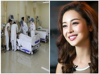 Hoa hậu Jennifer Phạm bất ngờ ngất xỉu khi đang làm MC, đầu đập xuống sân khấu chấn thương, phải nhập viện