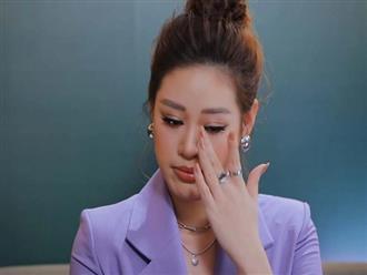 Hoa hậu Khánh Vân khóc kể suýt bị xâm hại tình dục