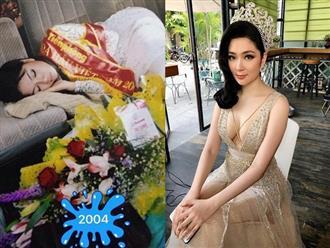 """Hoa hậu Nguyễn Thị Huyền khoe """"ảnh độc"""", hé lộ mối duyên với NSƯT Minh Vượng"""