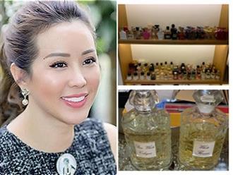 Hoa hậu Thu Hoài khoe bộ sưu tập nước hoa 'đắt xắt ra miếng'