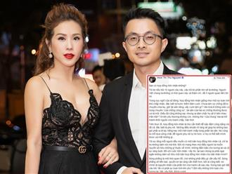 Hoa hậu Thu Hoài hé lộ về hợp đồng hôn nhân và điều khoản phạt 2 triệu USD nếu ai chia tay trước do chính bạn trai đề xuất