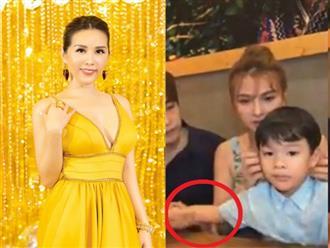 """Hoa hậu Thu Hoài sâu cay vụ chồng Thu Thủy cấu tay con riêng: """"Đừng dạy trẻ theo cách 1 đứa trẻ"""""""