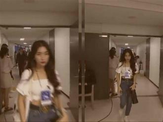 Hòa Minzy bị 'ném đá' phải khóa Facebook vì hành động mượn thẻ đi vào hậu trường để ngắm nhóm BTS