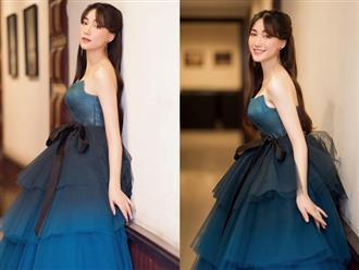 Hòa Minzy gặp sự cố với khóa váy trước khi ra sân khấu