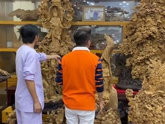 """Hoài Linh lần đầu tiết lộ """"căn phòng bí mật"""" chứa trầm hương bạc tỷ lớn nhất Việt Nam"""