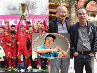 Việt Nam vô địch, Hoài Linh viết lời cảm động cho thầy trò HLV Park Hang Seo, nhắc tên bầu Đức
