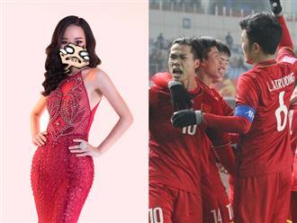 Đoán U23 Việt Nam thua chưa đủ, người đẹp Hoa hậu Hoàn vũ lại 'xé tim' người hâm mộ bằng trạng thái sốc sau trận đấu