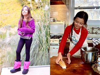 Mừng sinh nhật 2 con, Hồng Nhung khoe nét đẹp lai Tây của bé Tép khiến fan trầm trồ