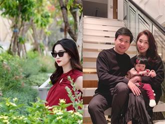 HOT: Hoa hậu Đặng Thu Thảo vừa hạ sinh quý tử nặng 3,5kg cho ông xã doanh nhân