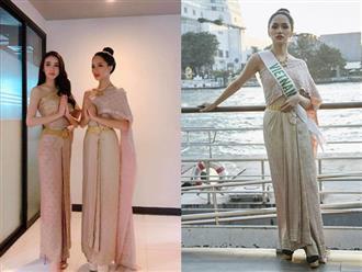 Hương Giang Idol khiến siêu mẫu hàng đầu Thái Lan phải khen ngợi!
