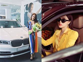 Hương Giang khoe xế hộp sang trọng mới tậu, bổ sung chiếc thứ 4 vào bộ sưu tập xe hơi tiền tỷ