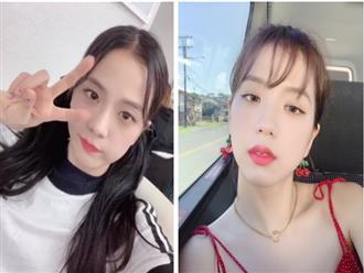 """Jisoo đẹp như Hoa hậu nên makeup nhàn nhạt vẫn xinh, đến eyeliner còn kẻ """"hên xui"""" là đủ hiểu"""
