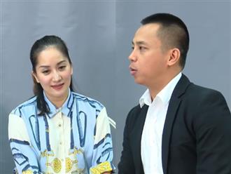 """Khánh Thi: """"10 năm nay tôi mới được nghe Chí Anh nói những câu chân tình, nên xúc động lắm"""""""
