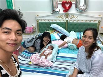 Cận cảnh cuộc sống của Khánh Thi - Phan Hiển sau vài ngày đón con gái về nhà