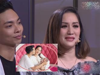 Khánh Thi rơi nước mắt thổ lộ lý do chọn học trò kém 12 tuổi làm chồng dù bị chỉ trích