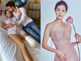 Khánh Vân dành lời đặc biệt gửi đến Hoa hậu Colombia phải cưa chân do biến chứng phẫu thuật