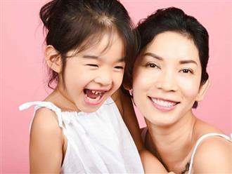 Khoảnh khắc ngọt ngào của Xuân Lan bên con gái trong bộ ảnh kỉ niệm sinh nhật 40 tuổi