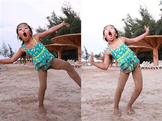 Khoe ảnh tình tứ bên chồng con, Việt Hương bất ngờ để lộ điểm đặc biệt của con gái 8 tuổi