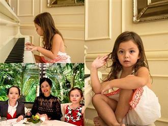 Khoe nhan sắc con gái lai Tây lúc còn bé, diva Hồng Nhung được khen nức nở vì điểm này