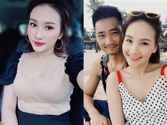 Khoe nhan sắc ngày càng xinh đẹp, 'nàng dâu' Bảo Thanh cũng không quên khéo léo 'nịnh' chồng
