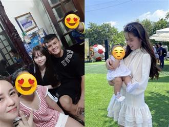 """Không hay đăng ảnh với Quang Hải nhưng Huỳnh Anh lại rất khéo thể hiện tình cảm với """"nhà trai"""" bằng cách này"""