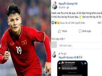 Không chỉ 1, có 8 người cùng hack Facebook Quang Hải?