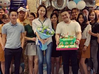 Không rình rang, Cường Đô La chúc mừng sinh nhật sớm Đàm Thu Trang bằng cách này