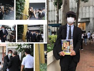 Khung cảnh tại tang lễ Vua sòng bài Macau ngày thứ 2: Người dân mang di ảnh đến viếng, quan chức cấp cao và giới doanh nhân cũng có mặt