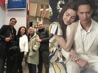 Sau khi gặp mặt gia đình Kim Lý, mẹ Hồ Ngọc Hà nhận xét về 'bố mẹ chồng' tương lai của con gái