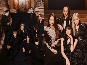"""Xếp thử kỳ phùng địch thủ BTS - BLACKPINK cạnh nhau, ai dè ra tổ hợp hoàn hảo như """"sinh ra là để dành cho nhau"""""""
