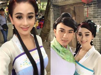 Lâm Khánh Chi hóa mỹ nhân cổ trang mặc gợi cảm khoe ngực đầy quyến rũ