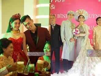 Đám cưới Lâm Khánh Chi tại nhà trai: Lóa mắt vì cô dâu - chú rể thay đồ 'xoành xoạch'