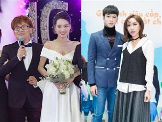 Làm MC đám cưới Trường Giang, Đại Nghĩa lại vô tình bật mí ngày cưới của Diệu Nhi?