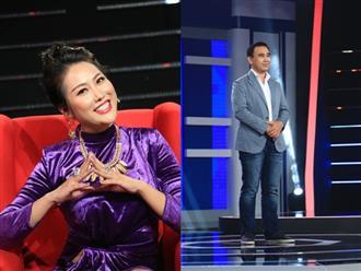 """Lâu ngày tái xuất TV Show, Phi Thanh Vân tranh cãi """"nảy lửa"""" với MC Quyền Linh"""