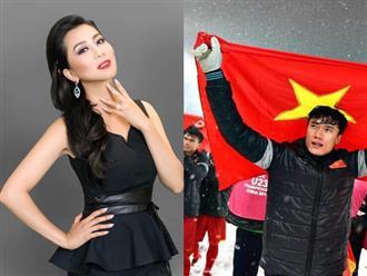 Lấy cảm hứng từ đội tuyển U23 Việt Nam, MC Kỳ Duyên tiết lộ bí quyết giúp chị em trẻ ra cả chục tuổi